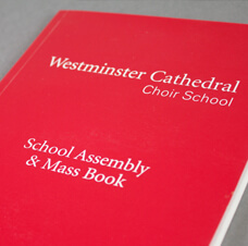 Westminster Cathedral Choir School Mass Book